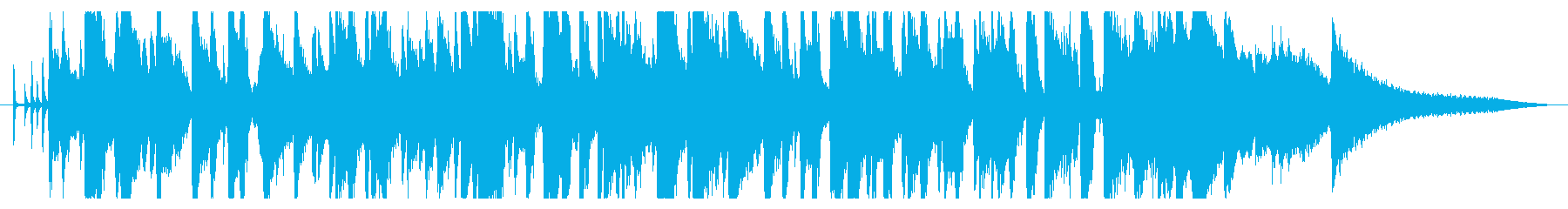 CM30秒ウイスキーのCMなどに最適ですの再生済みの波形