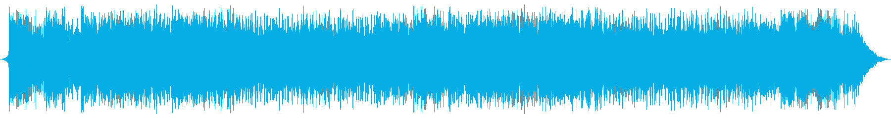 RPGや映画に合うオーケストラ風BGMの再生済みの波形
