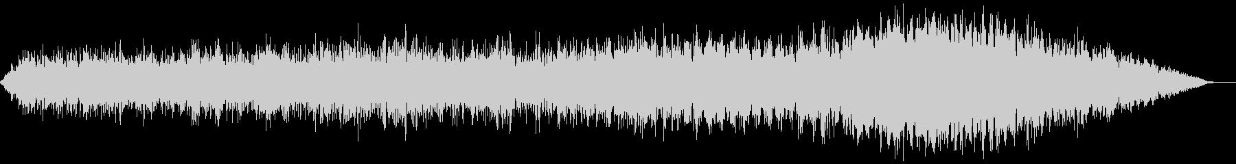 【アンビエント】ドローン_35 実験音の未再生の波形