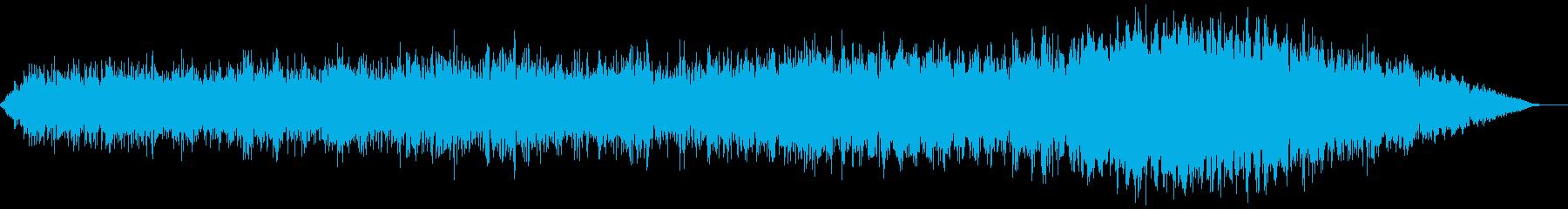 【アンビエント】ドローン_35 実験音の再生済みの波形