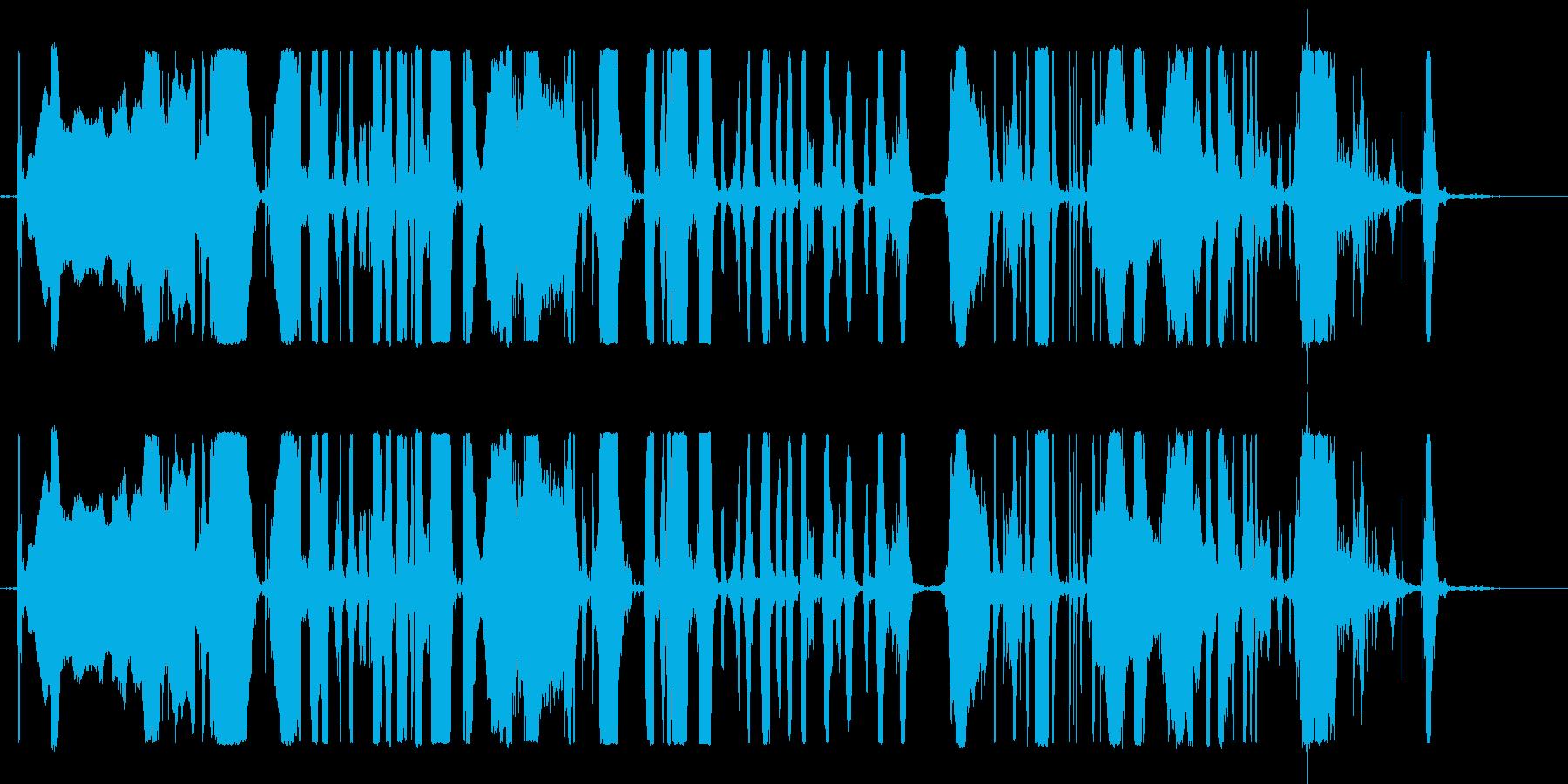 TELEFART ANSWERIN...の再生済みの波形
