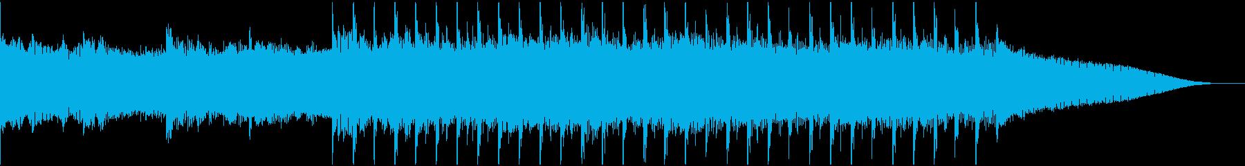 30秒企業VP,コーポレート,明るく元気の再生済みの波形