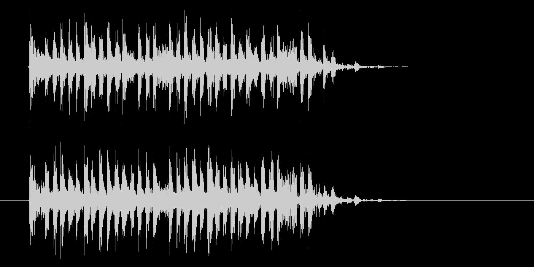 疾走感のある幻想的な音楽の未再生の波形