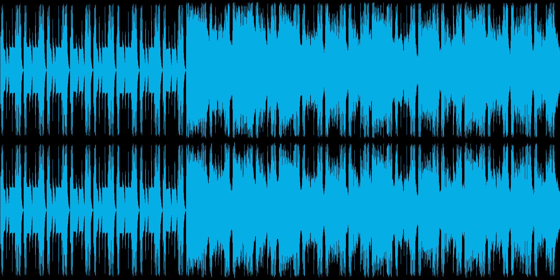 和風のメロディーで、暗めの曲ですの再生済みの波形