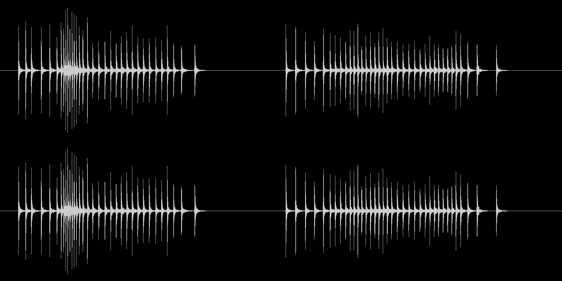 時計 アラーム03-05(ダイアル)の未再生の波形