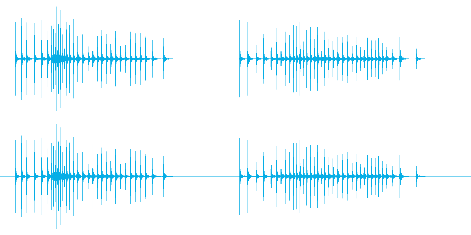 時計 アラーム03-05(ダイアル)の再生済みの波形