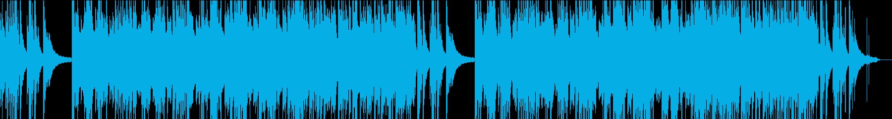 琴とピアノの切ない和風バラードの再生済みの波形