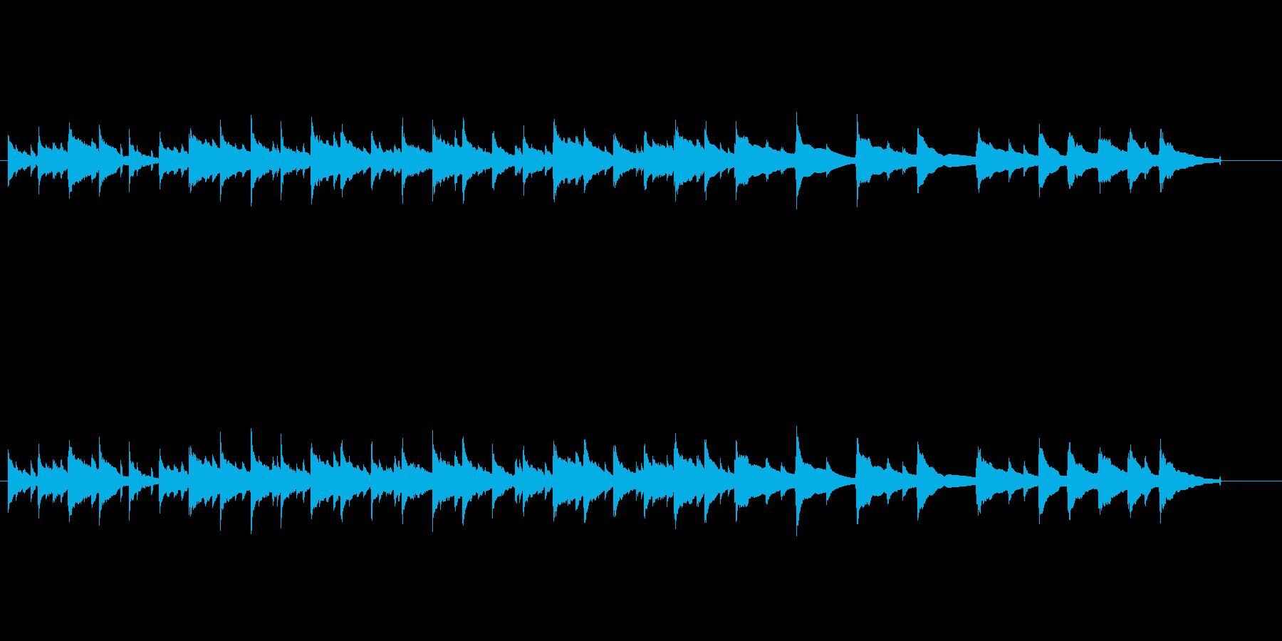 のどかな曲で生ウクレレアルペジオが印象的の再生済みの波形