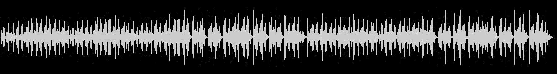 神秘的で幻想的なファミコン風BGMの未再生の波形