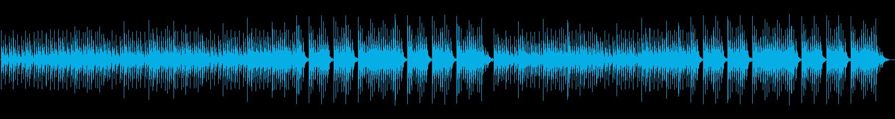 神秘的で幻想的なファミコン風BGMの再生済みの波形