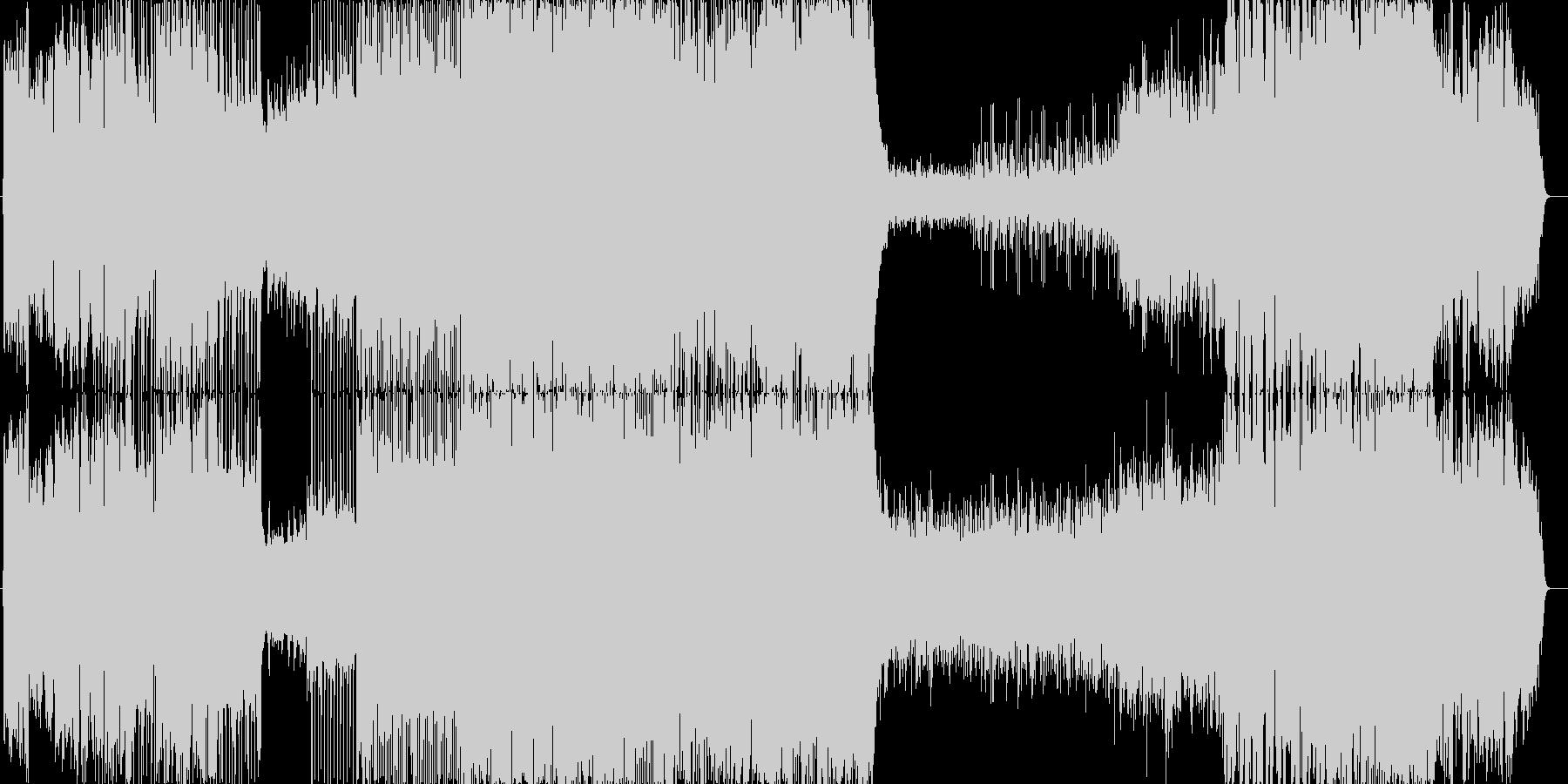 幻想的な和風曲です。また切なくもあり、…の未再生の波形