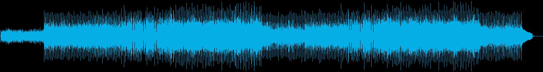 VP系17D、爽やかなロック、ドライブの再生済みの波形