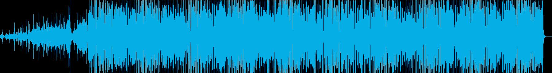 エレキギターが気持ち良い近未来的サウンドの再生済みの波形