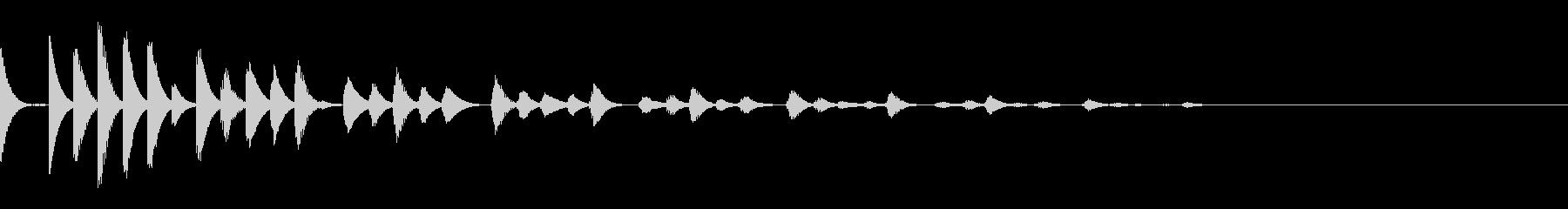 ピコピコ響く綺麗な音(宇宙/深海/癒し2の未再生の波形