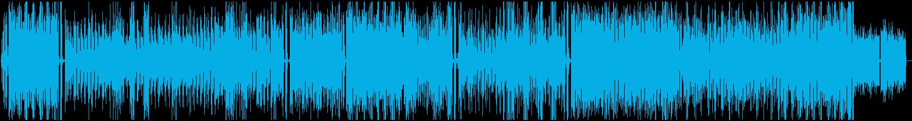 地中海の歌、フォーク、の再生済みの波形