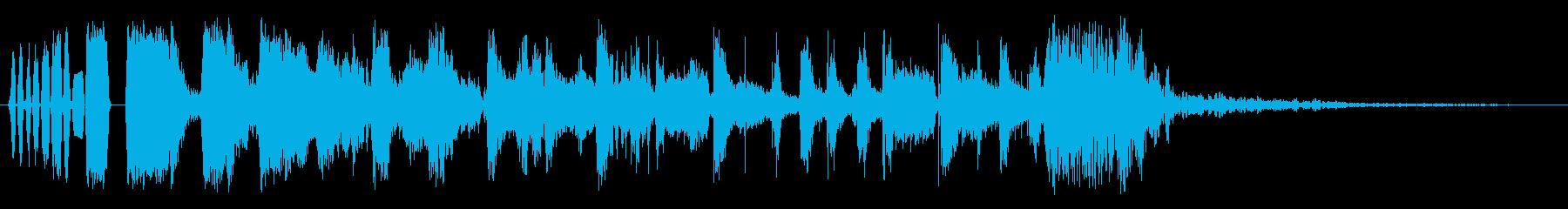 スイーパー3の再生済みの波形