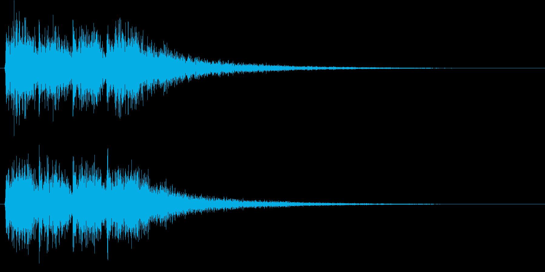 しっかりしたポジティブジングル(早め)3の再生済みの波形