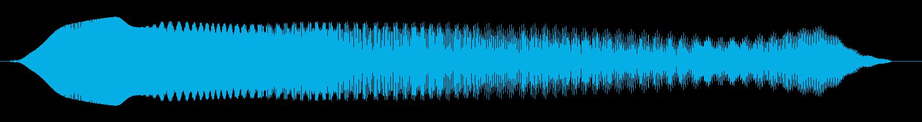 ホワンホワン↓(やられた)の再生済みの波形