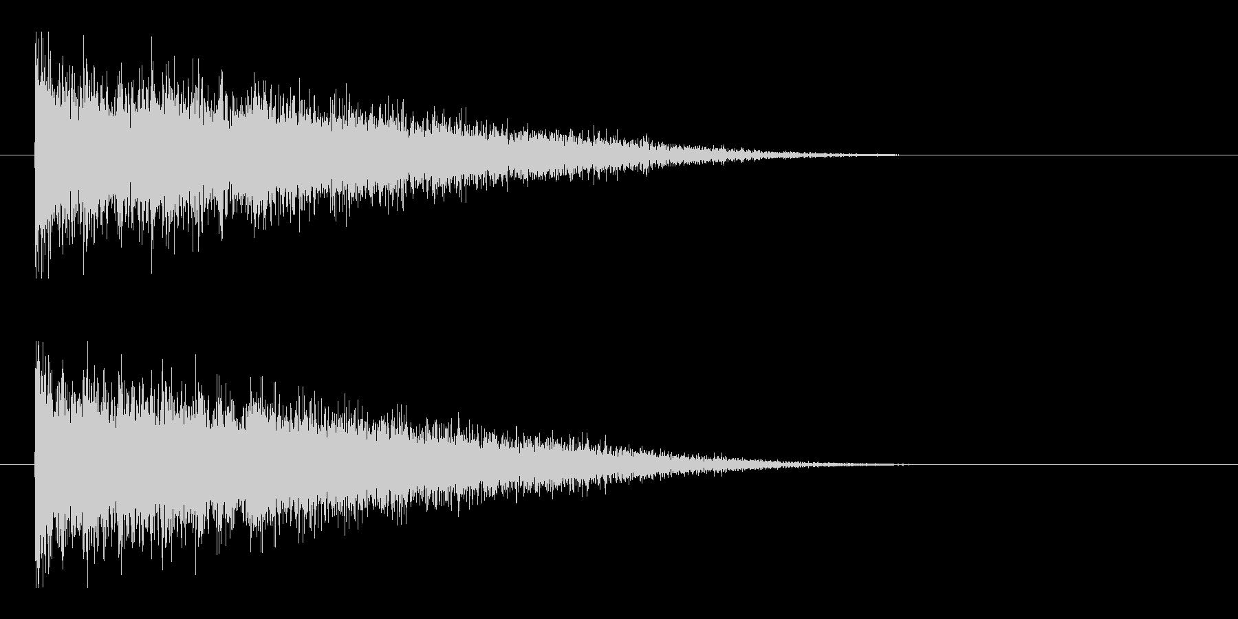 レーザー音-146-3の未再生の波形