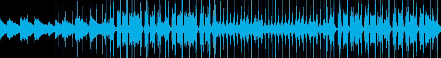 悲しいLofi Chill Hiphopの再生済みの波形