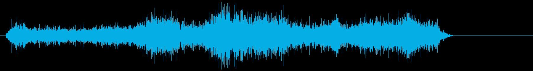 ドリル;小さな電気ドリル。の再生済みの波形