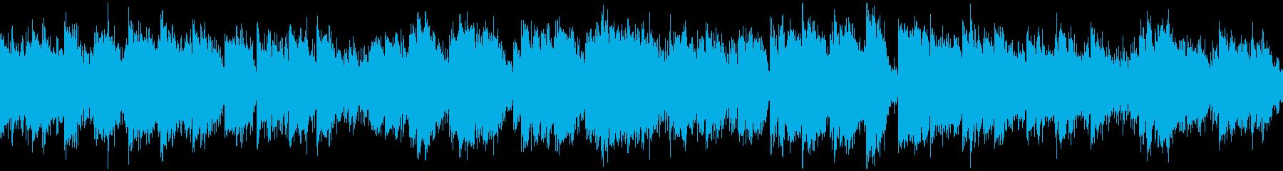 穏やかで安らぐヒーリング曲※ループ仕様版の再生済みの波形