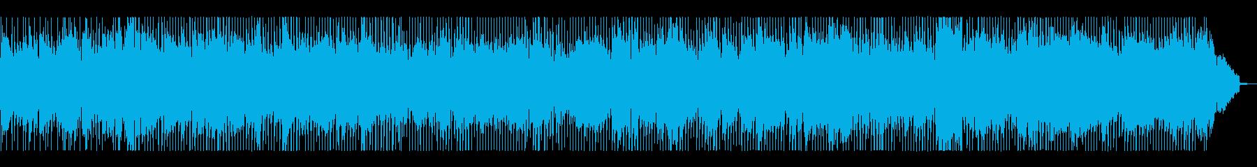 生演奏・ブルージーなロック・うなるギターの再生済みの波形