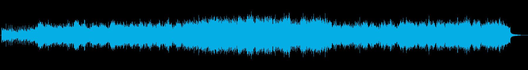 グリーンスリーブ風ノスタルジックワルツの再生済みの波形