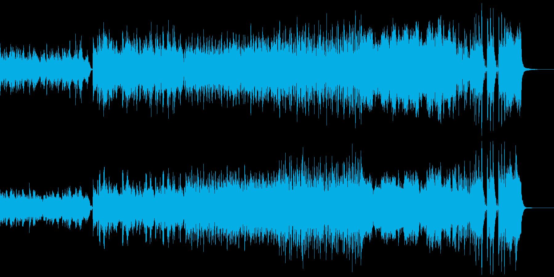 洋と和の混ざったオリエンタルな曲♪の再生済みの波形
