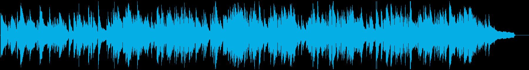 ゆったりくつろぎの癒し系ジャズ、サックスの再生済みの波形