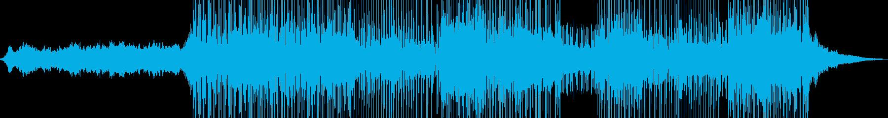 琴・三味線・レトロな演歌調ポップ+の再生済みの波形