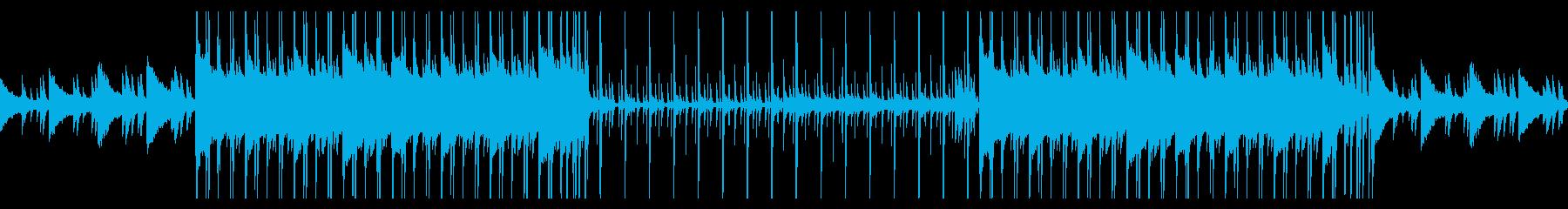 切ないピアノ主体のLofi HipHopの再生済みの波形
