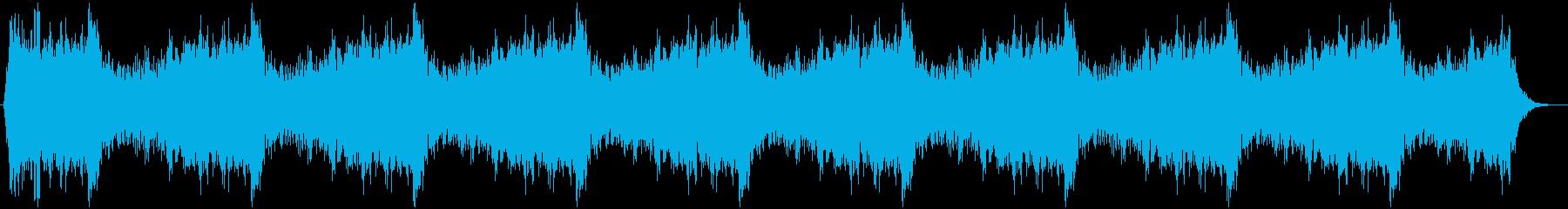 ホラー07の再生済みの波形