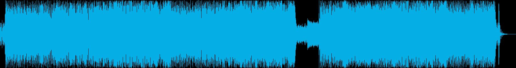 アニメ主題歌風のダンス曲_女性Vo の再生済みの波形