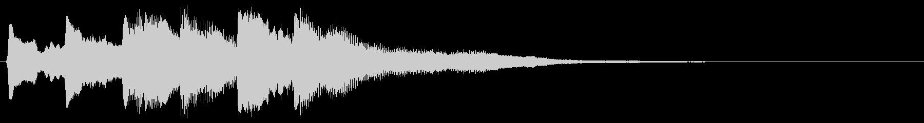 ゲームオーバー 残念 8bit版の未再生の波形