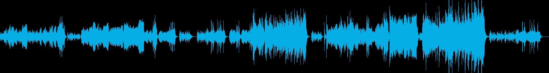 懐かしさ、切なさの感情を弦楽器で表現の再生済みの波形