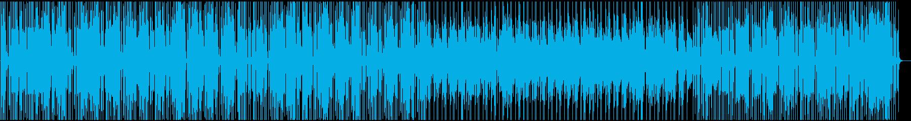 コメディ風のインストゥルメンタルラ...の再生済みの波形