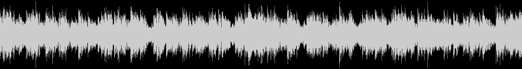 ピンチ・緊張した場面のBGM その10の未再生の波形