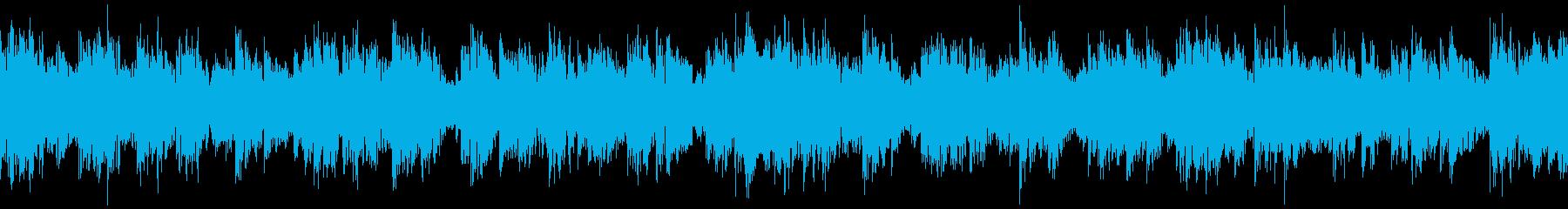ピンチ・緊張した場面のBGM その10の再生済みの波形