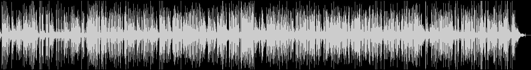 疾走感アコースティックジャズピアノトリオの未再生の波形