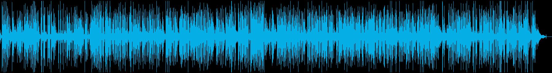 疾走感アコースティックジャズピアノトリオの再生済みの波形