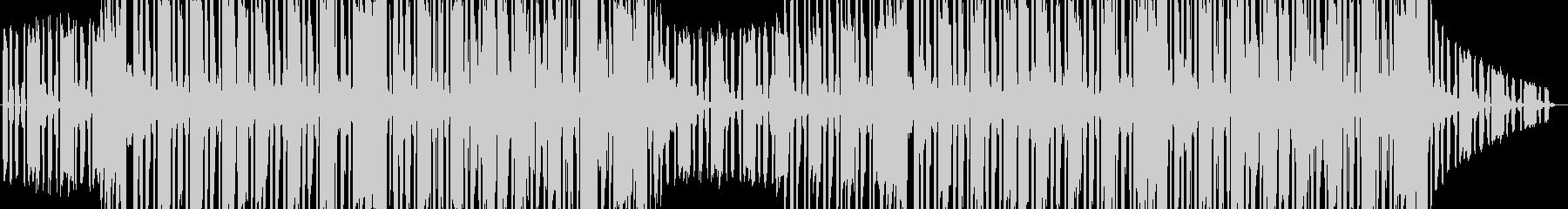 スタイリッシュなヒップホップ音楽の未再生の波形
