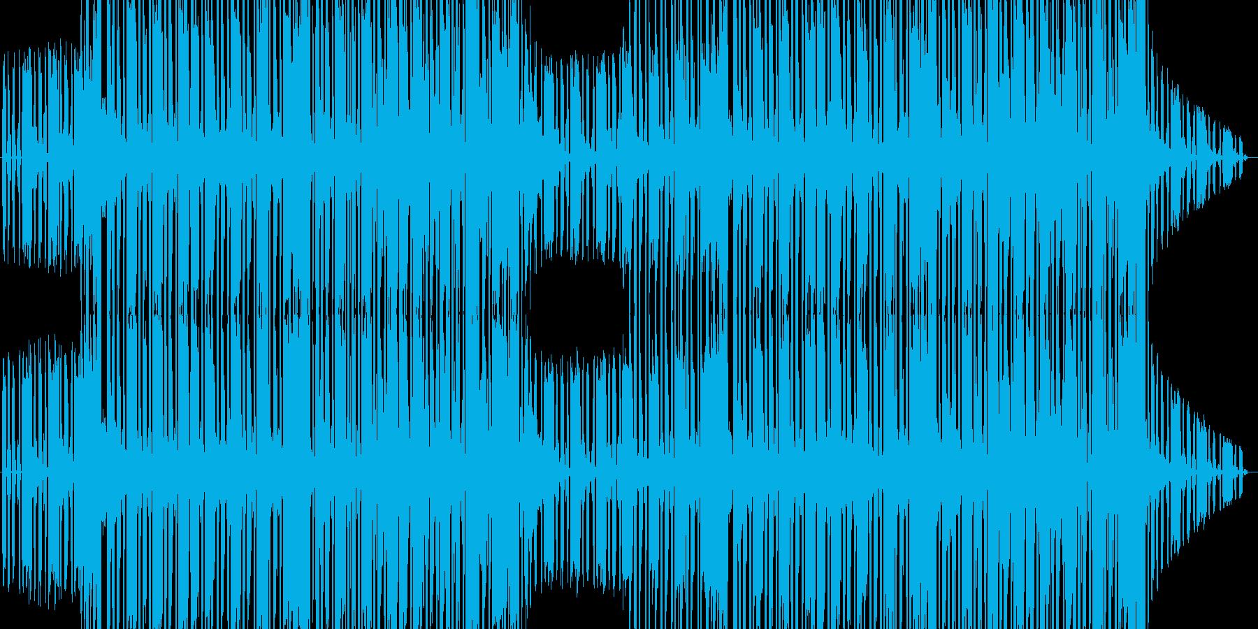 スタイリッシュなヒップホップ音楽の再生済みの波形