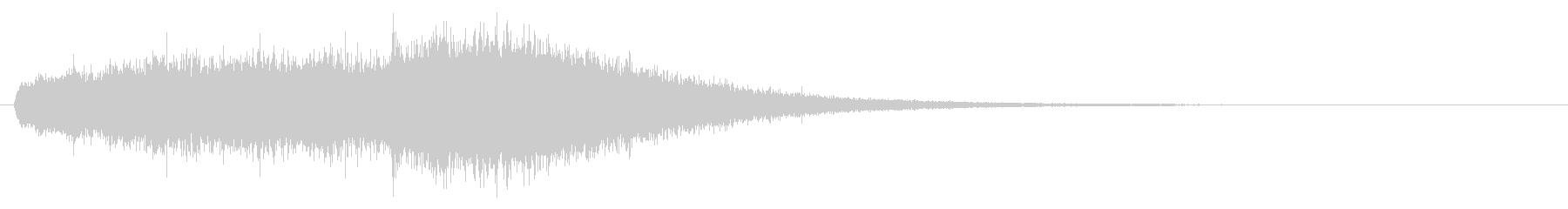 Sound of chanting or activating magic # 2's unreproduced waveform