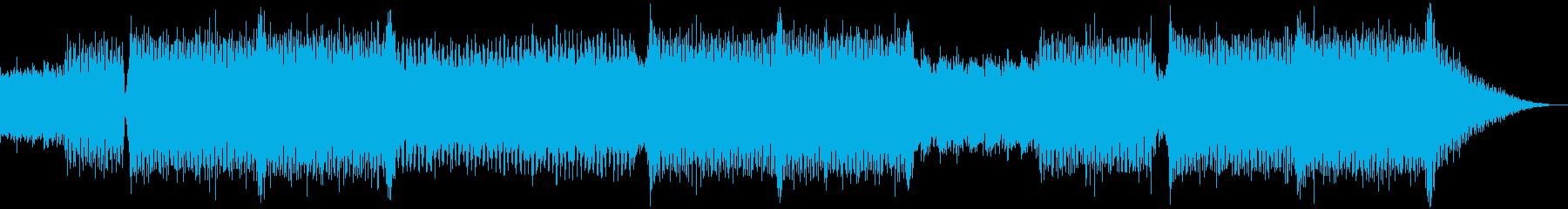 明るい応援ソング(エレクトロニック)の再生済みの波形