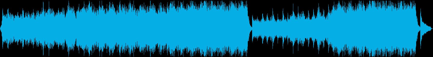 アンビエントで栄光のような曲の再生済みの波形