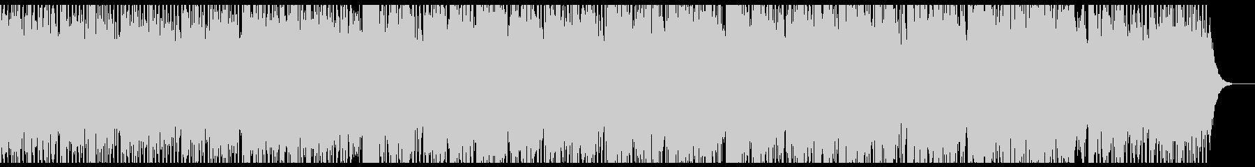 Layoutの未再生の波形