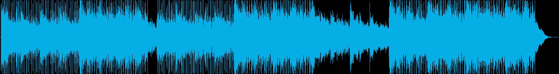 インストルメンタルライトロック。明...の再生済みの波形