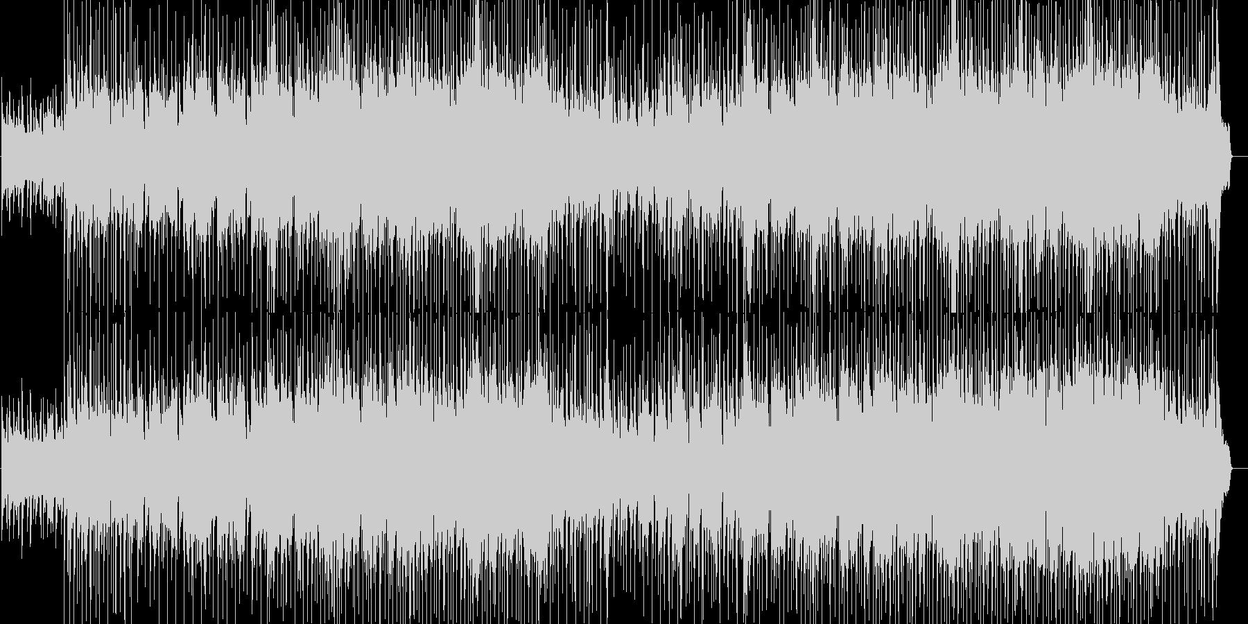 希望を感じるゆったりとしたバラードポップの未再生の波形