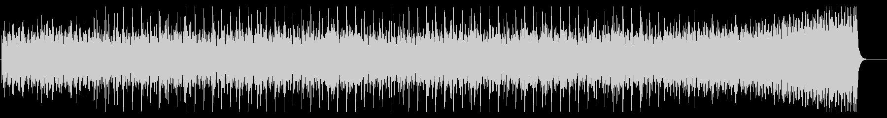 ピアノによる幾何学的フレーズの現代曲の未再生の波形